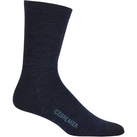 Icebreaker Lifestyle Ultralight Crew Socks Men fathom heather/capri